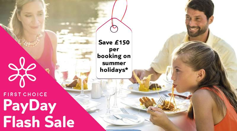 Save £150 per booking on summer holidays