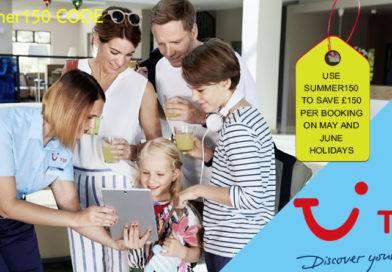 TUI WEEKEND FLASH SALE. USE SUMMER150