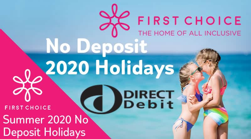 no depost holidays with first choice