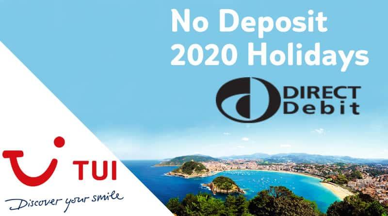 tui no deposit holidays