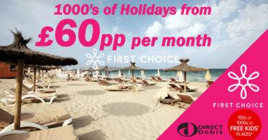 Direct debit holidays