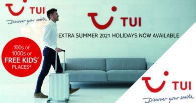 TUI holidays 2021